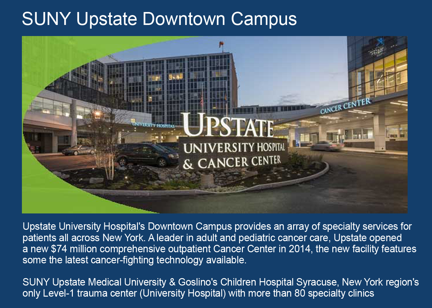 SUNY Upstate Downtown