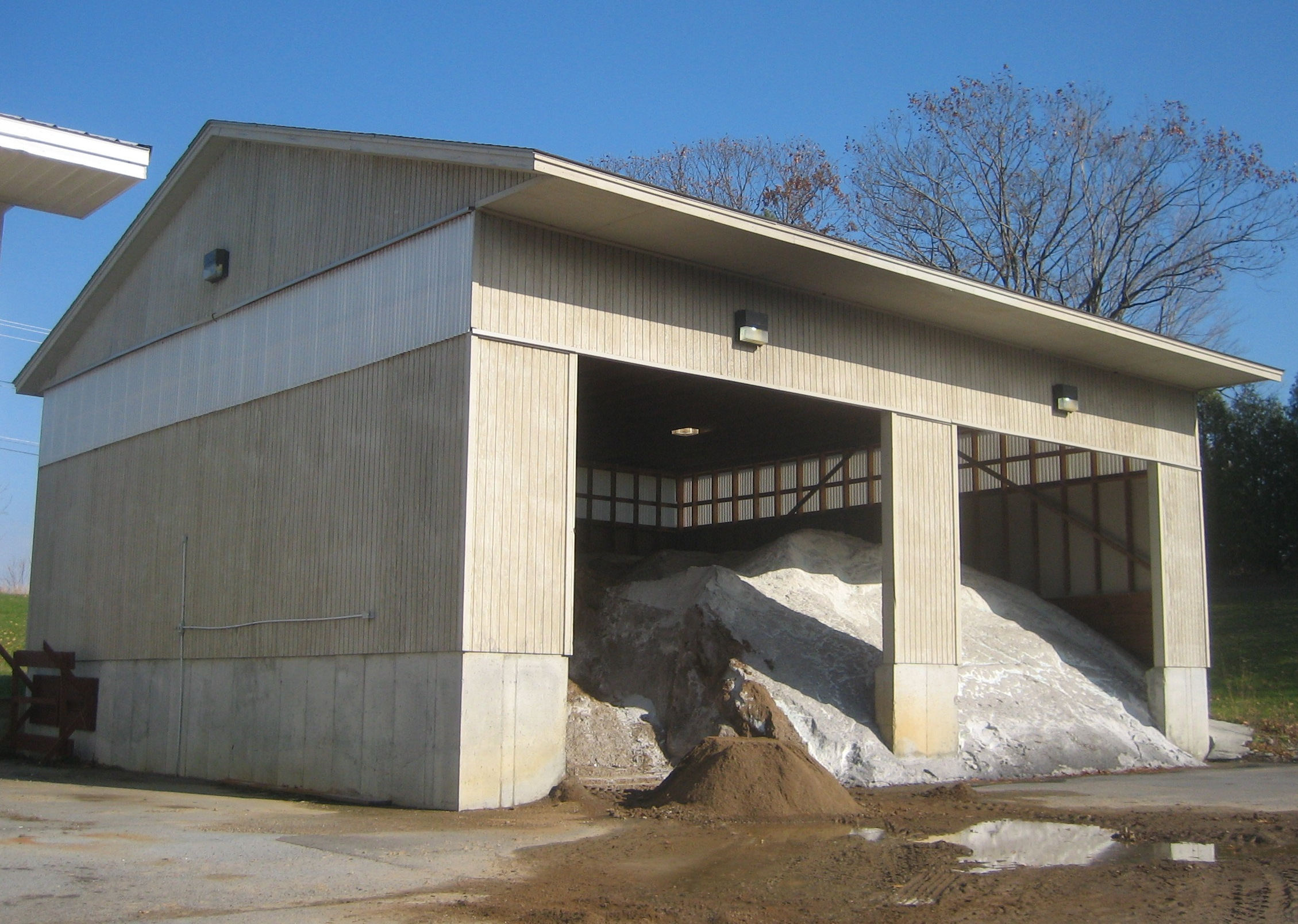 Sandy Creek Salt Storage Facility