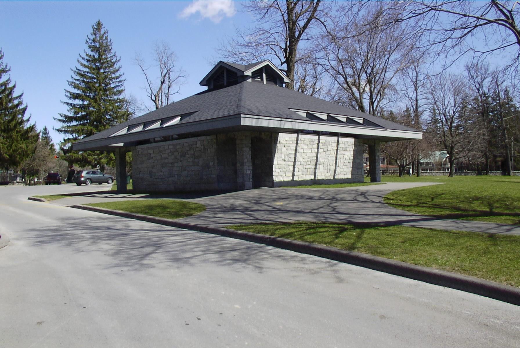 Cazenovia Lakeland Park Bath House