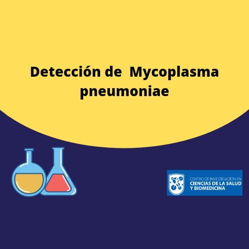 Detección de  Mycoplasma pneumoniae