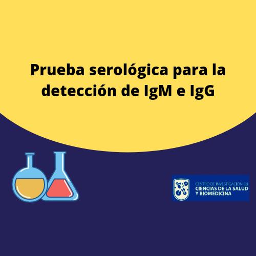 Anticuerpos contra COVID-19 IgG e IgM