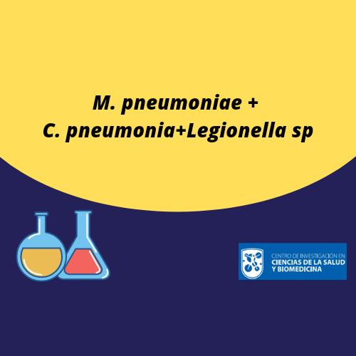M. pneumoniae+C. pneumonia+Legionella sp