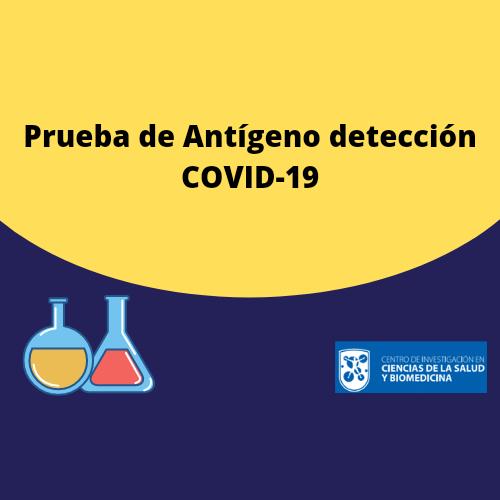 Prueba de Antígeno detección COVID-19