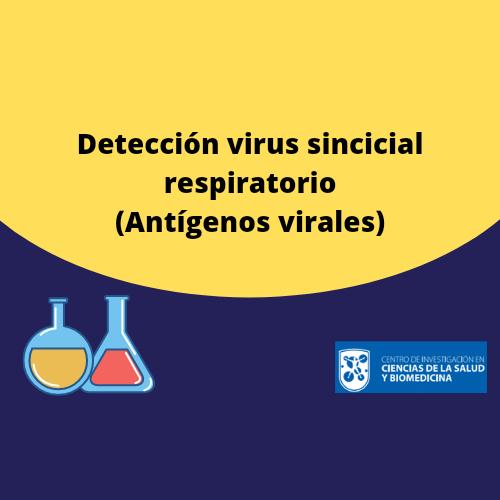 Detección virus sincicial respiratorio