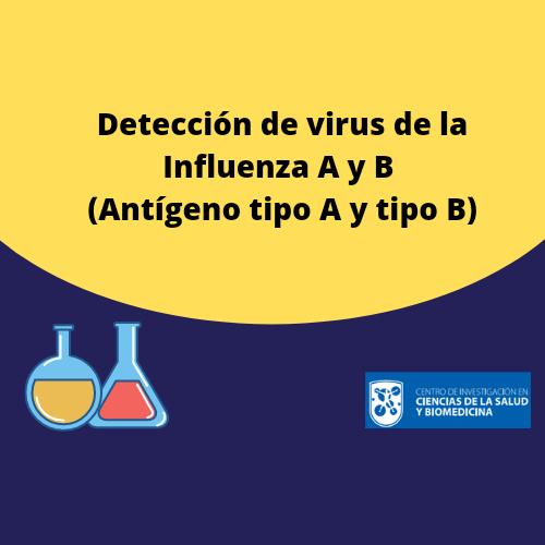 Detección de virus de la Influenza A y B