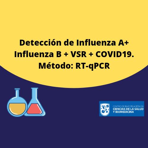 Influenza A+ Influenza B + VSR + COVID19