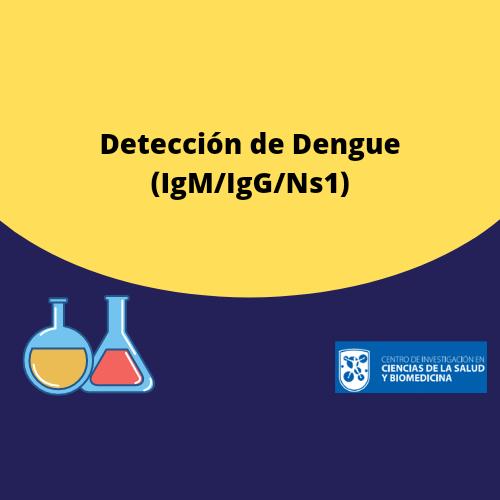 Detección  de Dengue (IgM/IgG/Ns1)