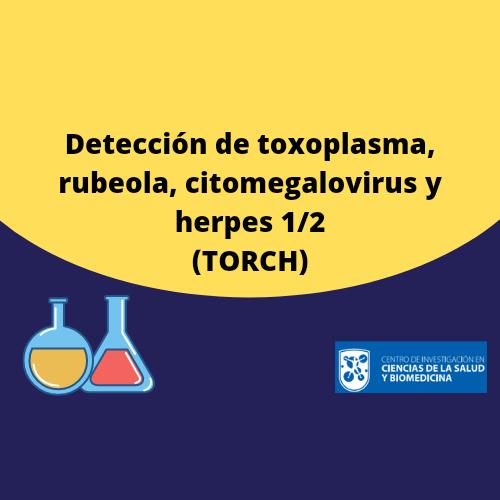 Toxoplasma, Rubéola, CMV y Herpes 1/2