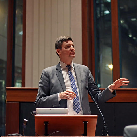 Hon. David Eby, Attorney General of BC
