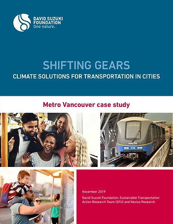 Shifting Gears: Climate Solutions for Transportation in Cities