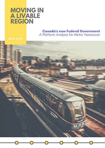 Canada's new Federal Government: A Platform Analysis for Metro Vancouver