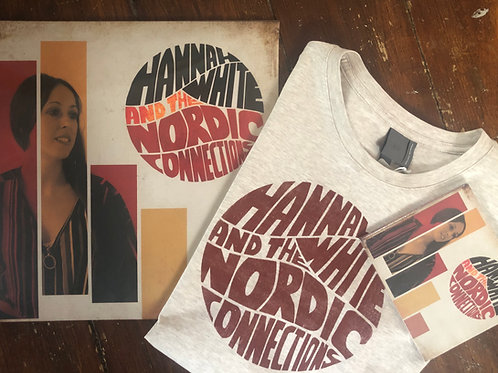 DELUXE BUNDLE - SIGNED CD & Vinyl, T-Shirt, Tote Bag and lyric booklet
