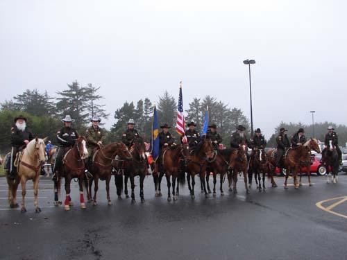 Lincoln County Mounted posse