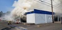 Auto Repair Shop Fire