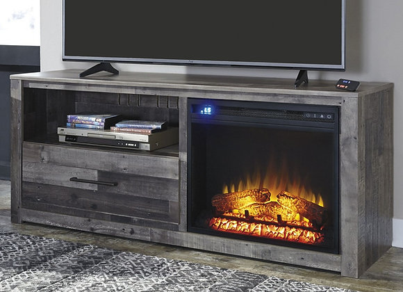 Derekson Fireplace & TV Stand