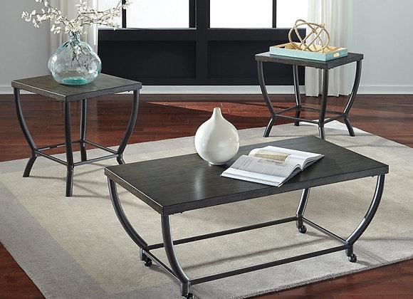 Champori 3 Piece Table Set