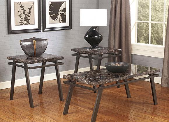 Paintsville 3 Piece Table Set