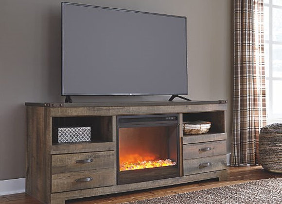 Trinell Fireplace & TV Stand