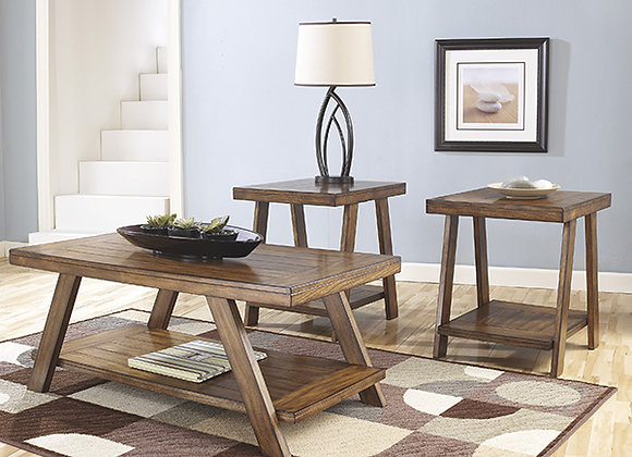 Bradley 3 Piece Table Set