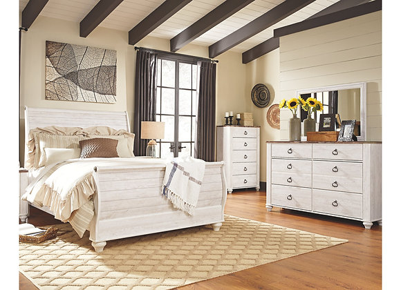 willowton 5 piece bedroom set   my way leases
