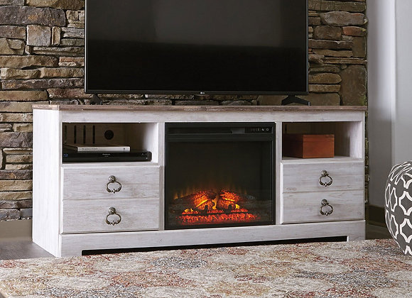Willowton Fireplace & TV Stand