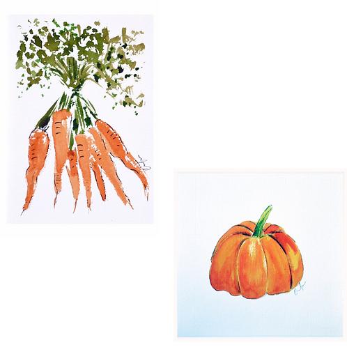 Frutas y Verduras Pack 2