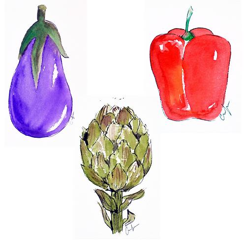 Frutas y Verduras Pack 3