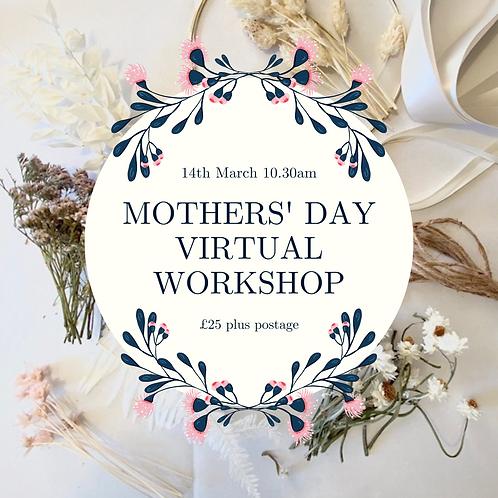 Virtual Flower Hoop Workshop