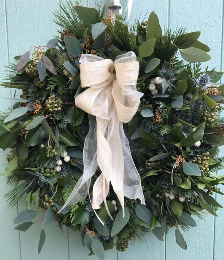 Online Christmas Wreath Workshop
