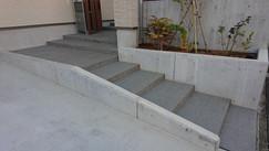玄関ポーチ階段