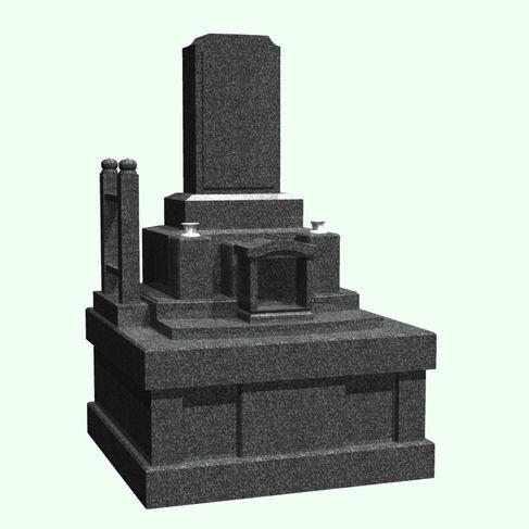 位牌型石塔