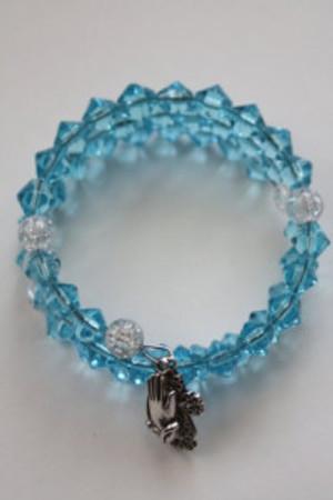blue rosary