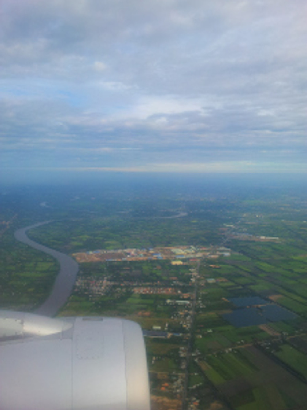 Airscape and the Tien Giang River