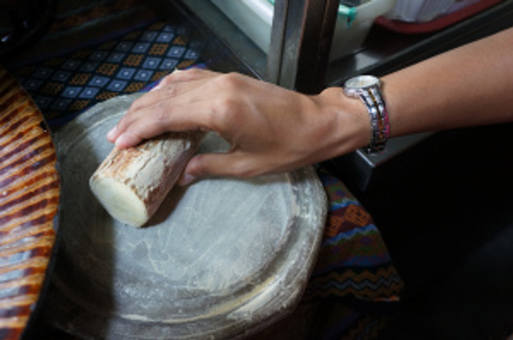 Milling your own face powder