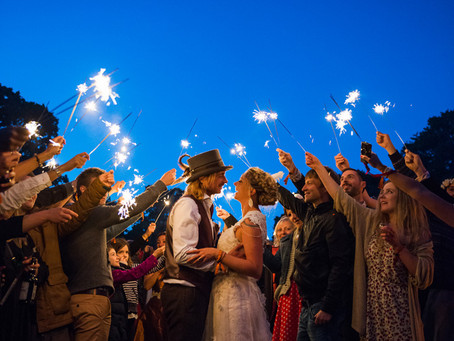 An amazing festival wedding in Kent