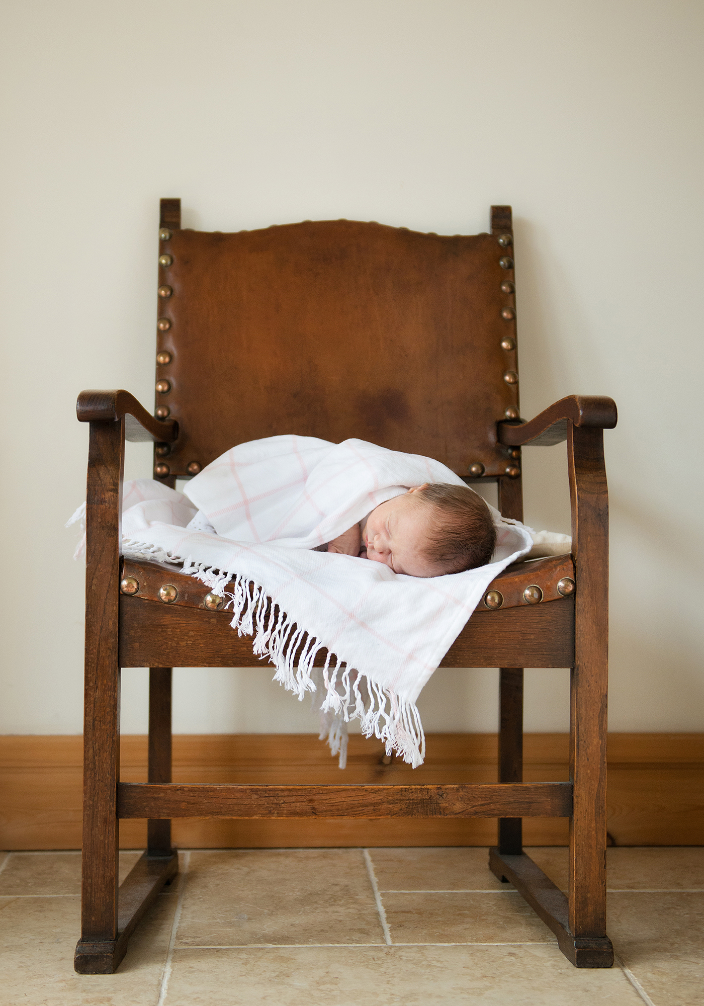 Baby photography in your own home