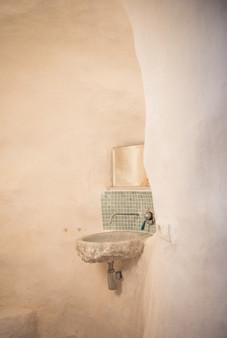 Cave bathroom, Spain