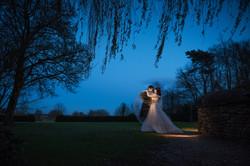 Dramatic winter wedding photographed