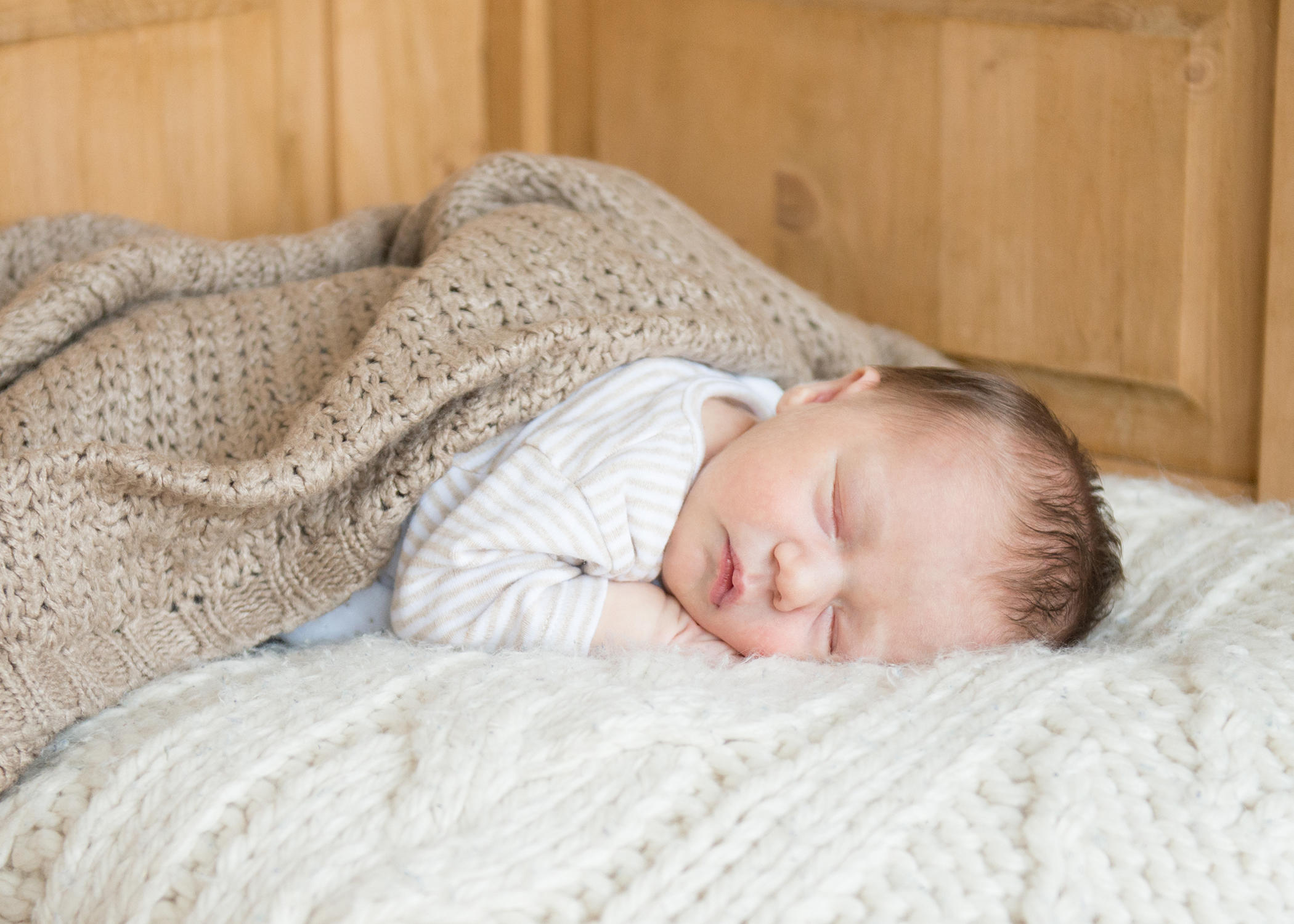 Sleeping baby photo