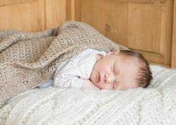 Sleeping baby photo