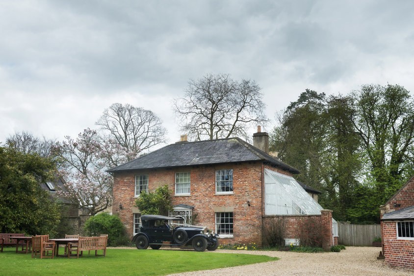 Wedding at the Garden House, Orchardleigh Estate, Somerset