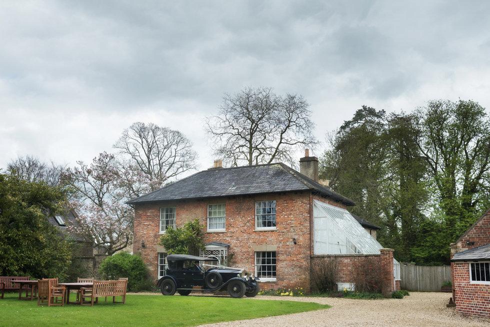 Wedding at the Garden House, Orchardleigh Estate, Somerset