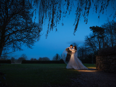 Cotswolds wedding photography - A winter wedding...