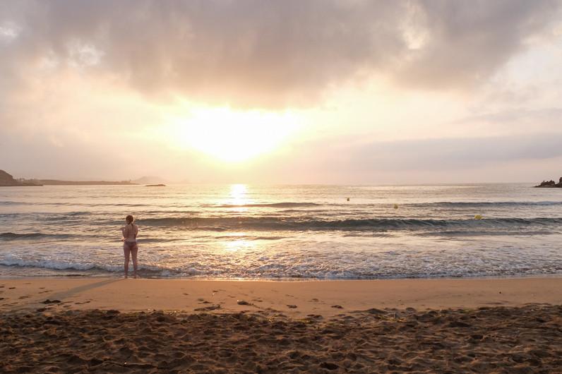 The sea at dawn, Casa Isadora
