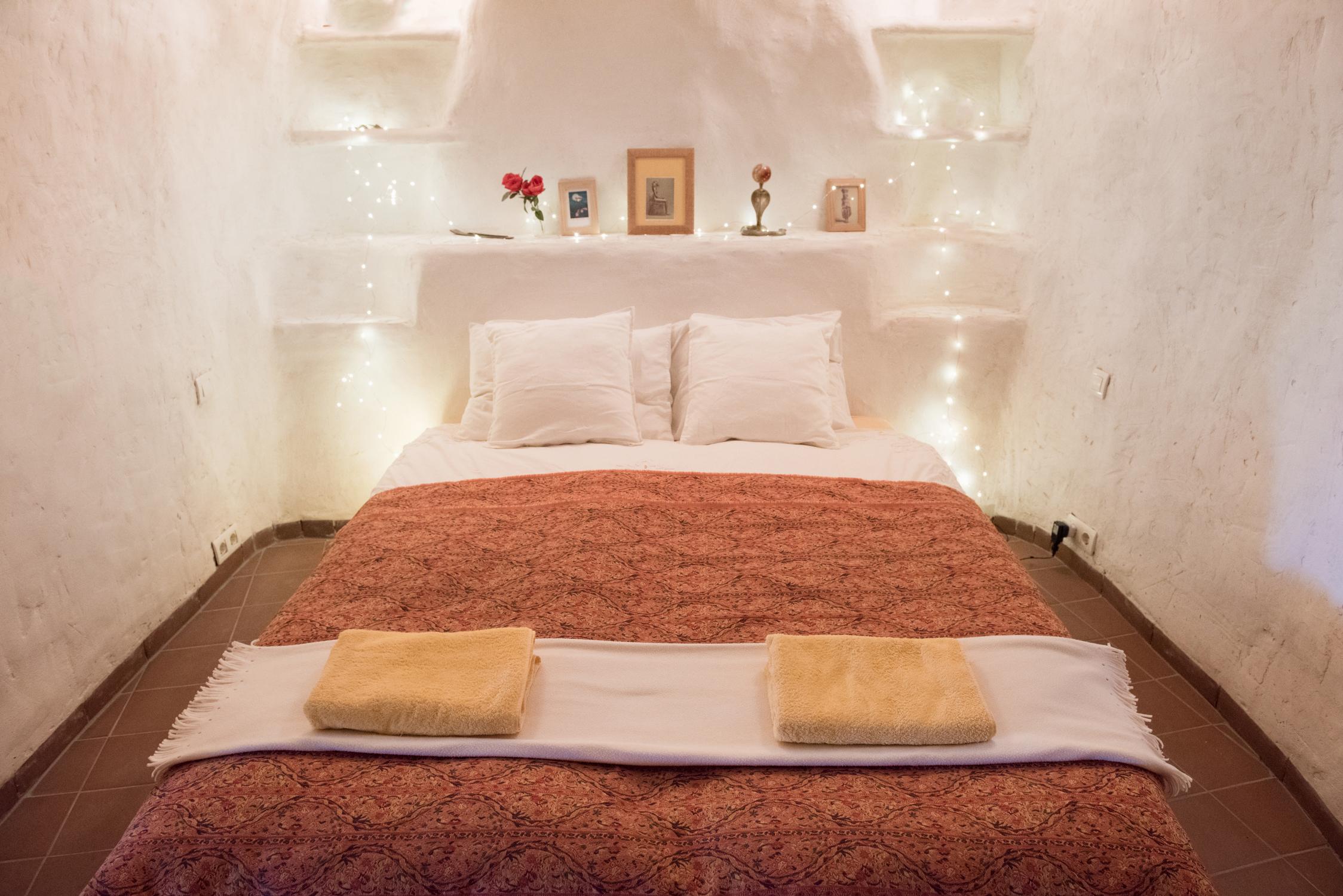Cave bedroom, Casa Isadora