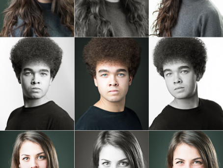 Actors headshots for Drama Schools in Bristol