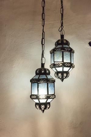 Cave house lighting
