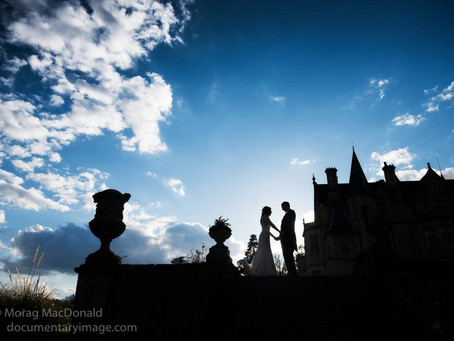 Wedding photography at Orchardleigh House