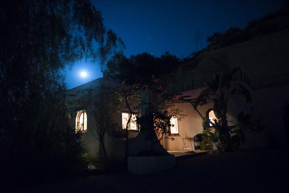 Moonrise over Casa Isadora