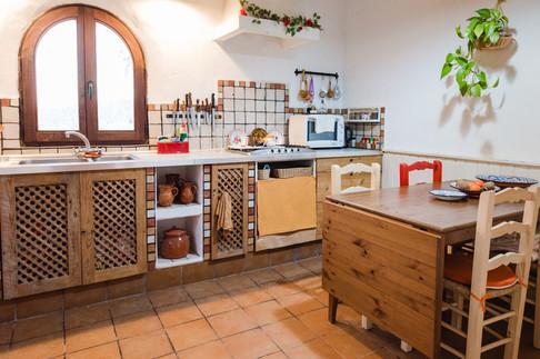 Kitchen table, casa Isadora